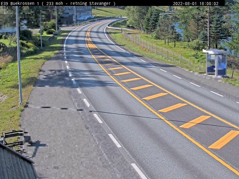 Webcam Bue, Bjerkreim, Rogaland, Norwegen